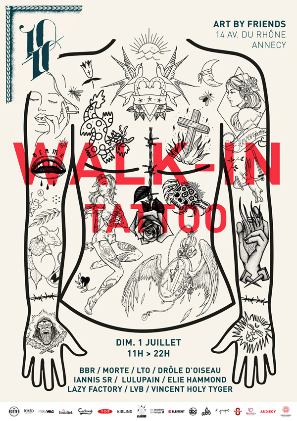 WALK-IN TATTOO